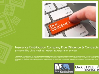 Webinar: Mergers & Acquisitions - Due Diligence and Contracts