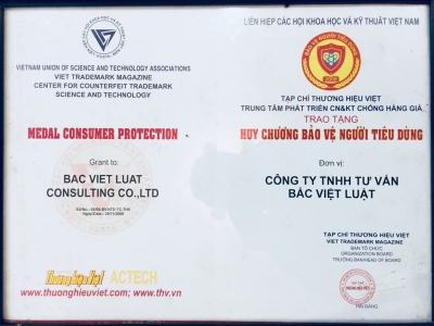 Bac Viet Luat-  Winning a gold medal for protecting consumers